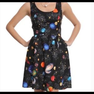 Retrolicious x ModCloth Galaxy Dress w/ Pockets